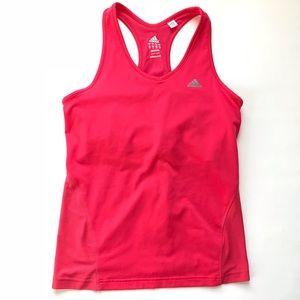 Adidas • Pink Activewear Workout Exercise Tank Top